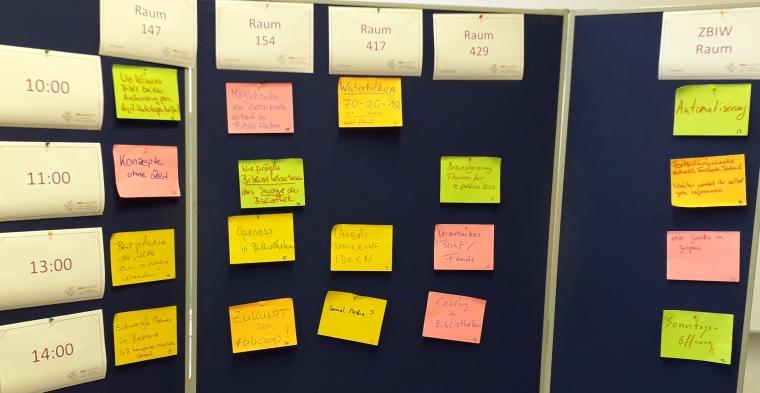 Sessionplanung Bibcamp 2019